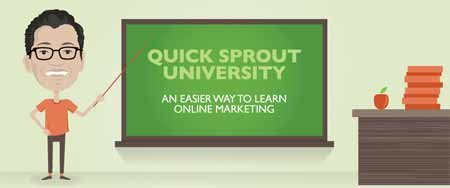 Universidade Marketing Online - Quick Sprout